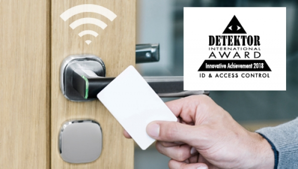 ASSA ABLOY's Aperio® H100 wireless handle wins 2018's Innovative Achievement Award