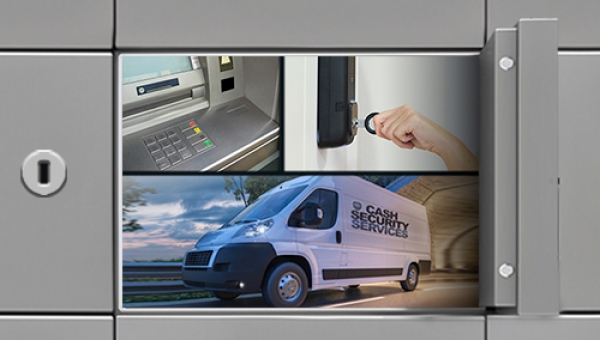 Can a single, integrated locking system protect banking halls, ATMs and cash in transit?