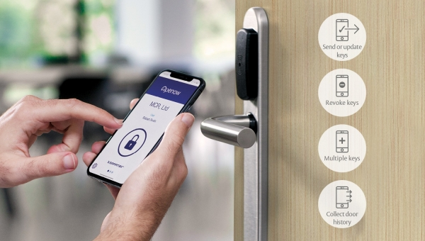 New Openow™ mobile app for SMARTair® adds online functionality to your offline locking