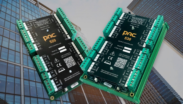 PAC I/O Controllers deliver advanced security and building management functionality